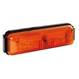 Luce ingombro a 4 Led  24V - Arancio