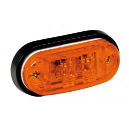 Luce ingombro a 2 Led  24V - Arancio