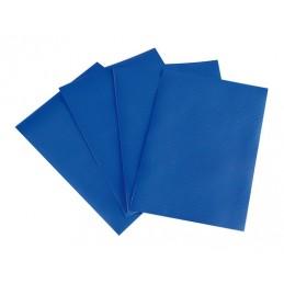Set 4 pezze adesive per teloni camion - Blu