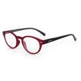 Giotto  occhiali da lettura - Ricarica singola gradazione - +2.0 - Rosso Nero