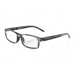 Caravaggio  occhiali da lettura - Ricarica singola gradazione - +2.5 - Grigio Nero