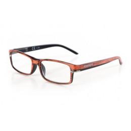 Caravaggio  occhiali da lettura - Ricarica singola gradazione - +1.0 - Arancio Nero
