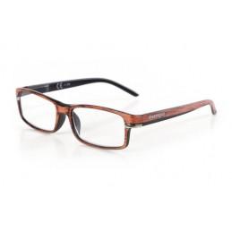 Caravaggio  occhiali da lettura - Ricarica singola gradazione - +2.5 - Arancio Nero