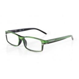 Caravaggio  occhiali da lettura - Ricarica singola gradazione - +1.0 - Verde Nero
