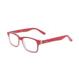 Leonardo  occhiali da lettura - Ricarica singola gradazione - +2.5 - Rosso