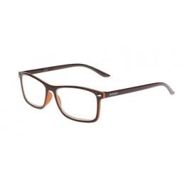Raffaello  occhiali da lettura - Ricarica singola gradazione - +3.5 - Marrone Arancio