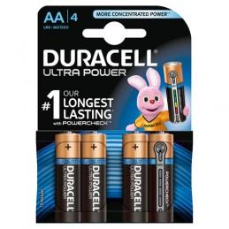 "Duracell Ultra Power  stilo ""AA""  4 pz"