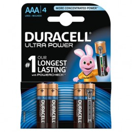 "Duracell Ultra Power  mini stilo ""AAA""  4 pz"