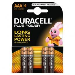 "Duracell Plus Power  mini stilo ""AAA""  4 pz"