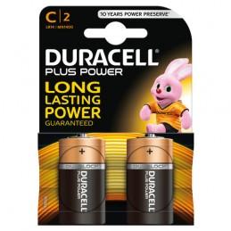 """Duracell Plus Power  mezza torcia """"C""""  2 pz"""
