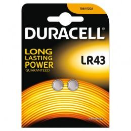 "Duracell Elettronica  ""LR43""  2 pz"