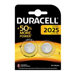 """Duracell Elettronica  """"2025""""  2 pz"""