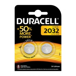 """Duracell Elettronica  """"2032""""  2 pz"""