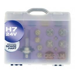 24V Kit Lampade di ricambio 24V - W - 1 pz  - Scatola Plast. - H7