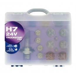 24V Kit Lampade di ricambio 24V - 1 pz  - Scatola Plast. - H7 - Truckstar Pro