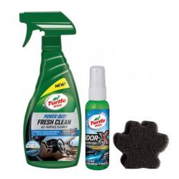 Kit animali in auto  la soluzione contro le macchie  i peli e gli odori - 500+59 ml
