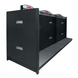 Scaffale modulare F9  coppia pannelli testata di banco