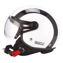 CASCO SPARCO RIDERS SP501 BIANCO / NERO-M