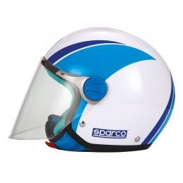 CASCO SPARCO RIDERS SP504 PANDA BLUE-YM