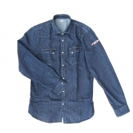 Camicia jeans Uomo TG.XXL