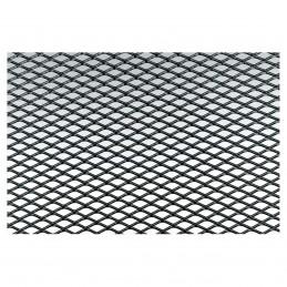 Griglia alluminio nero 125x20 maglia stretta