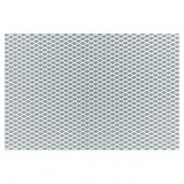 Griglia alluminio 125x20 cm maglia extra stretta