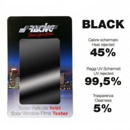 Pellicola vetri Black 76x150 cm + 50x300 cm