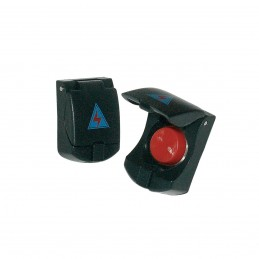 Pulsante Cover button black