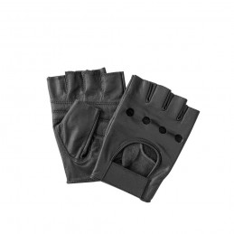 Guanti Vintage neri senza dita tg.M